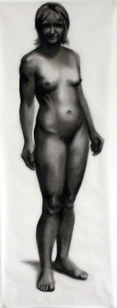 Göttliche Komödie. Detail, 2013- 2014, 70x 200cm, Pastell, Transparentpapier