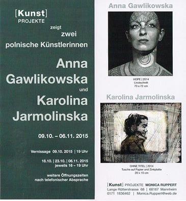 """Ausstellung """"Zwei Polnische Künstlerinnen"""" in Mannheim"""