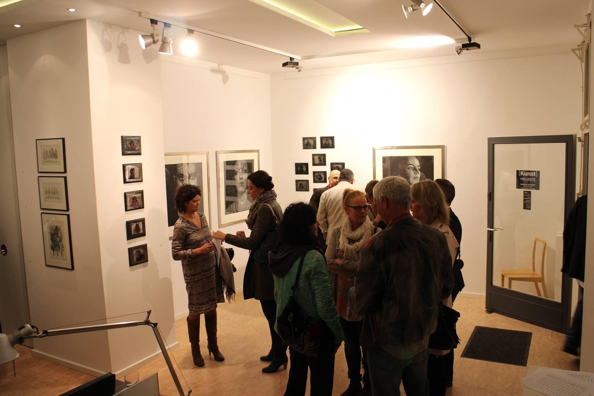 Ausstellung bei Kunstprojekte in Mannheim